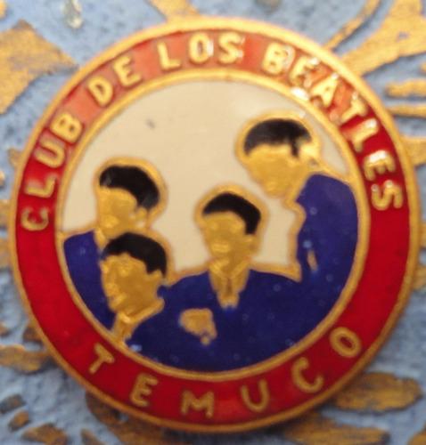 vintage piocha club de los beatles temuco años 60