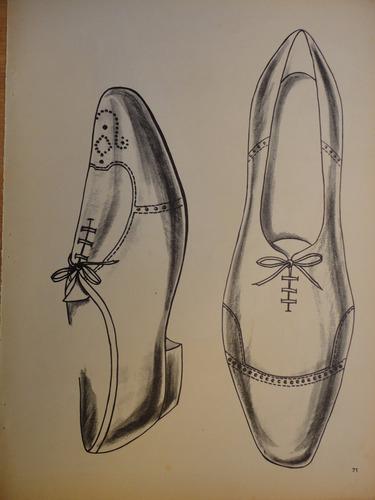 vintage publicidad antigua  calzados italianos años 60