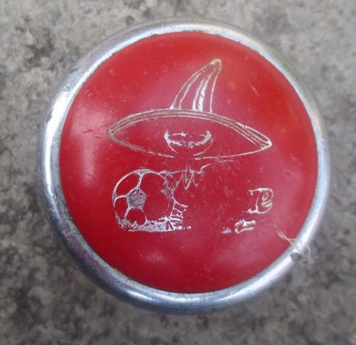 vintage raro yo-yo de pique 86' el mundial mexico 86'