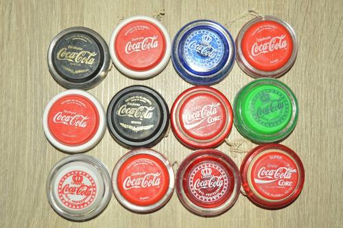 vintage raros yoyos coca cola genuinos russel 80's
