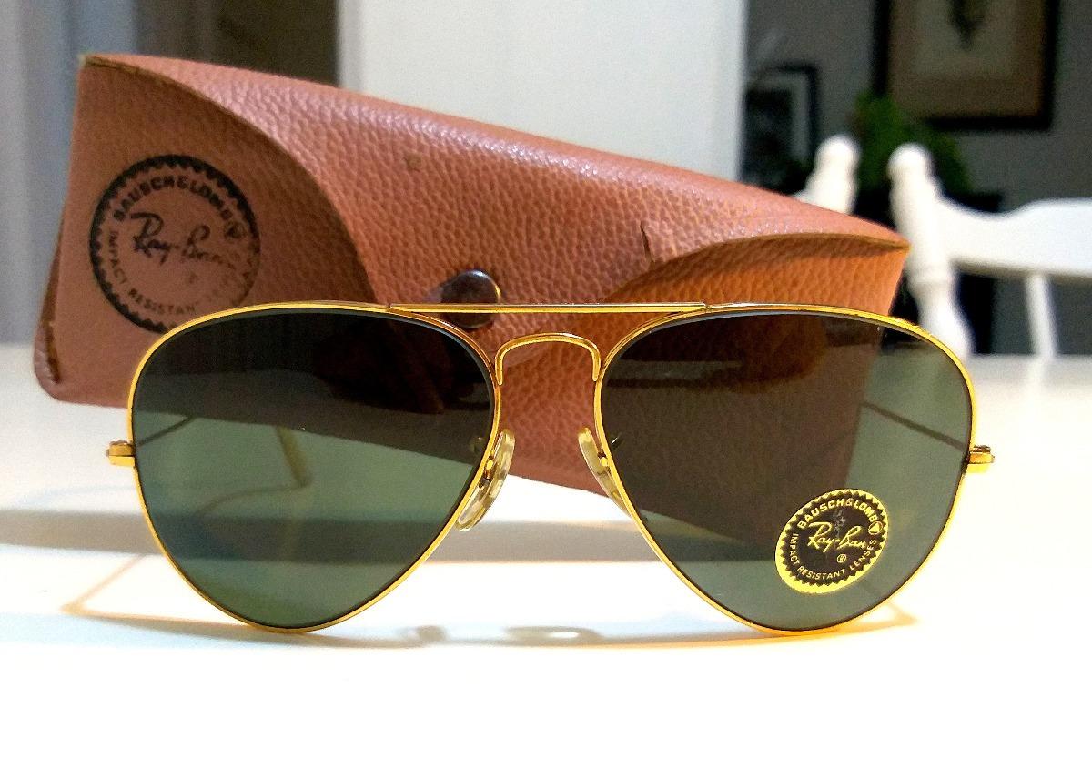 8579309a1c vintage rayban aviator años 70 b&l usa 58mm gafas aviador. Cargando zoom.