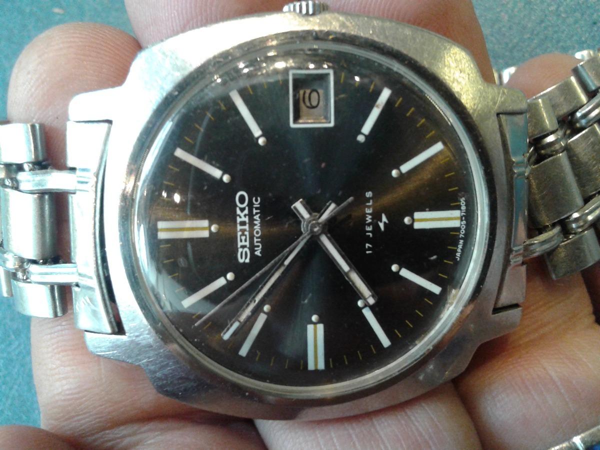 84bdb7c6a121 vintage reloj pulsera seiko automatic 17. Cargando zoom.