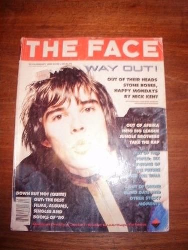 vintage! revista británica the face enero 90 - stone roses