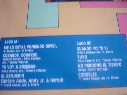 vinyl vinilo lp acetato andy nontañez y su orquesta