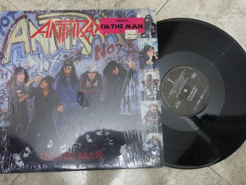 vinyl vinilo lp acetato antrax  americano