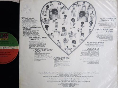 vinyl vinilo lp acetato aretha franklin soul