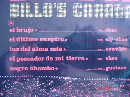 vinyl vinilo lp acetato billos caracas boys  78