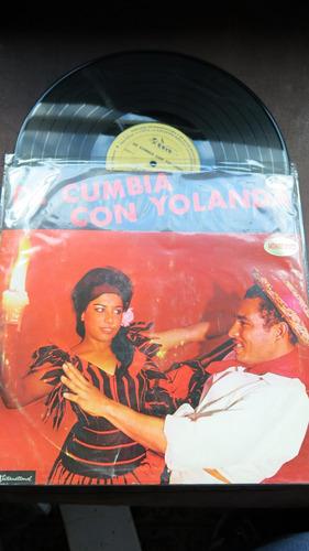 vinyl vinilo lp acetato cumbia con yolanda  daro tropical