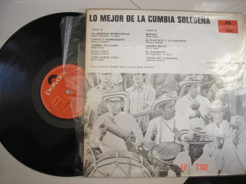 vinyl vinilo lp acetato cumbia soledeña exitos de carnaval