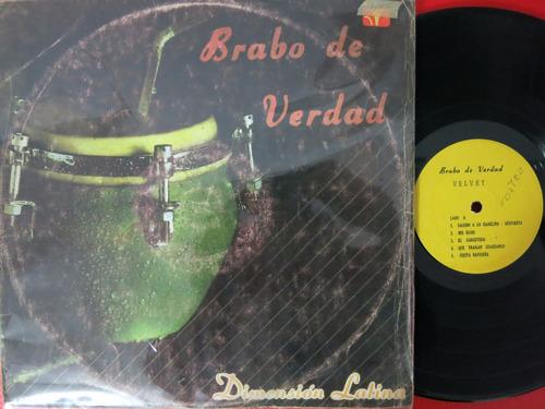 vinyl vinilo lp acetato dimension latina bravo salsa