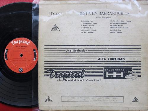 vinyl vinilo lp acetato fiesta en barranquilla tropical cumb