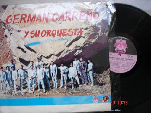 vinyl vinilo lp acetato german carreño y su orquesta salsa