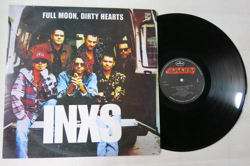 vinyl vinilo lp acetato inxs full moon dirty hearts rock