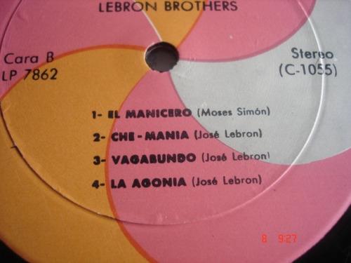 vinyl vinilo lp acetato  lebron brothers picadillo a la crio