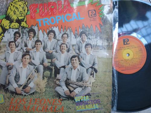 vinyl vinilo lp acetato leones de machala furia tropical