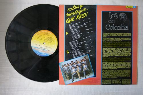 vinyl vinilo lp acetato los 8 de colombia salsa y merengue
