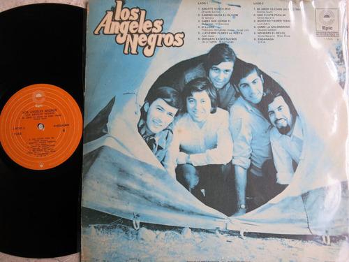 vinyl vinilo lp acetato los angeles negros balada