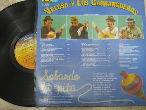 vinyl vinilo lp acetato los carrangueros de raquira sobando