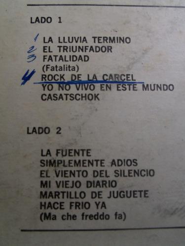 vinyl vinilo lp acetato los iracundos edi peru