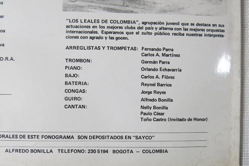vinyl vinilo lp acetato los leales de colombia salsa cumbia