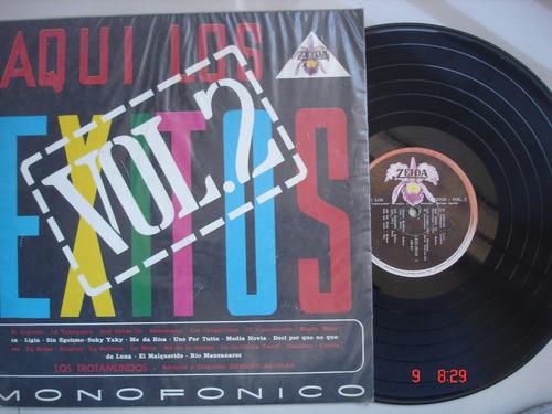 vinyl vinilo lp acetato los tratamundos exitos cumbia