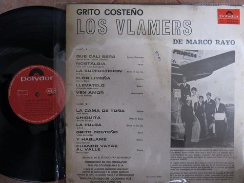 vinyl vinilo lp acetato los vlamers grito costeño cumbias