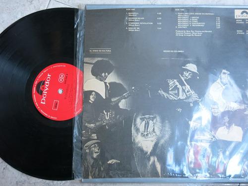 vinyl vinilo lp acetato mandrill rock edic nacional
