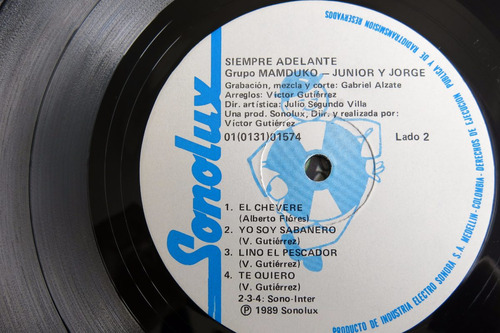 vinyl vinilo lp acetato manduco junior y jorge tropical