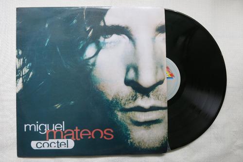 vinyl vinilo lp acetato miguel mateus coctel rock español