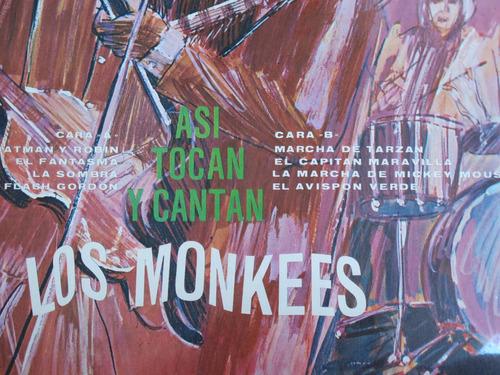 vinyl vinilo lp acetato monkees rock clasico
