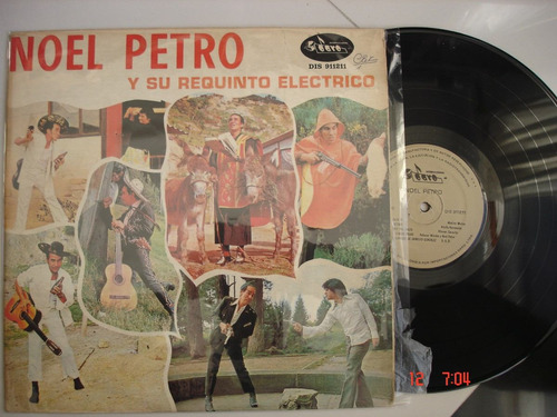 vinyl vinilo lp acetato noel petro y su requinto electrico
