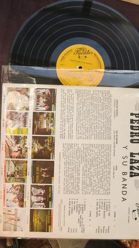 vinyl vinilo lp acetato pedro laza  su banda cumbia tropical