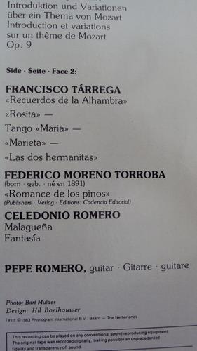 vinyl vinilo lp acetato pepe moreno guitarra flamenco