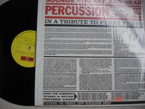 vinyl vinilo lp acetato perez prado percusion
