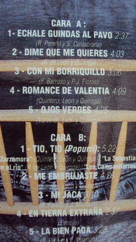 vinyl vinilo lp acetato raphael  andaluz