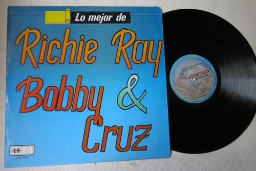 vinyl vinilo lp acetato richie ray y bobby cruz lo mejor