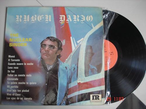 vinyl vinilo lp acetato ruben dario the nuclear singler