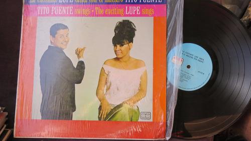 vinyl vinilo lp acetato tito puente y lupe sing salsa americ