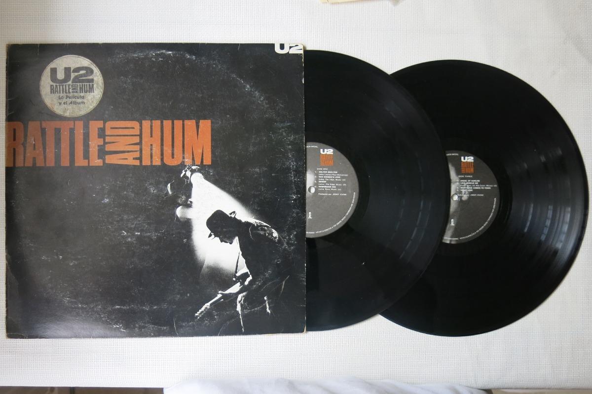 Vinyl Vinilo Lp Acetato U2 Rattle And Hum - $ 150 000