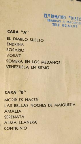 vinyl vinilo lp acetato venezuela en ritmo tropical