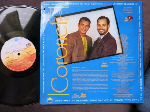 vinyl vinilo lp acetatojuan carlos coronel cabalgando salsa