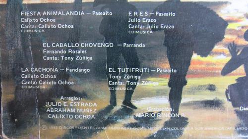 vinyl vinilo lps acetato corraleros de majagual  tropical