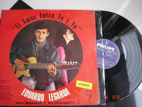 vinyl vinilo lps acetato eduardo legarda con brando y su orq