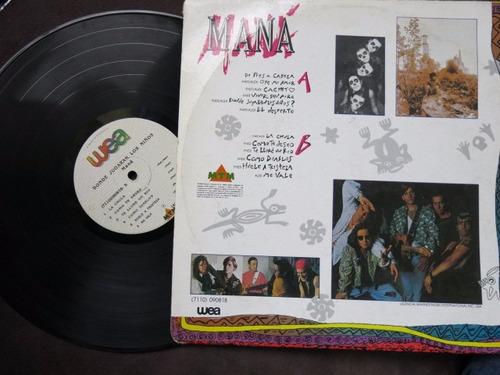vinyl vinilo lps acetato  mana donde jugaran los niños1993