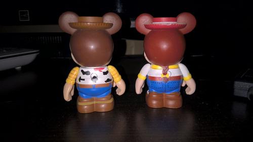 vinylmation toy story woodie y jessie disney