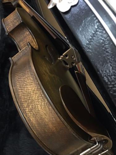 viola de arco 42 modelo izuca artesanal rolim envelhecido
