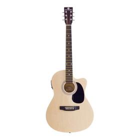 Violão Eletroacústico Harmonics Ge-21 Tília  Natural Direita