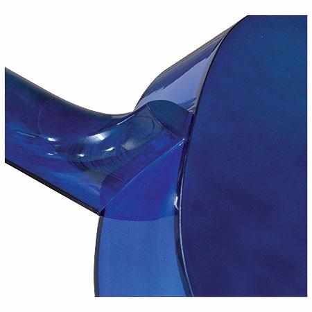 violao para iniciantes c/ afinador + palheta + capa - azul