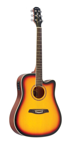 violao strinberg london le30c sb sunburst