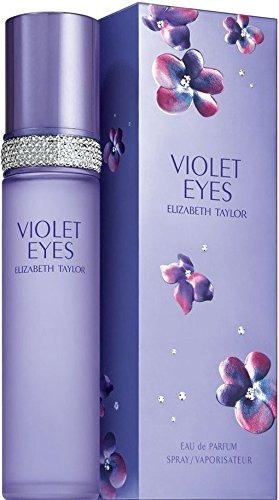 violet eyes por elizabeth taylor eau de parfum spray 33 onza